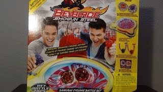 Beyblade Shogun Steel! SAMURAI CYCLONE BATTLE SET Part One ~Unboxing~Review~Test Spin~