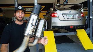 Creating the Best Subaru WRX STi Exhaust with Magnaflow
