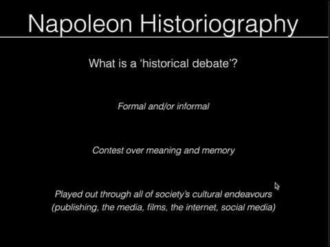 Napoleonic Historiography Pt 1