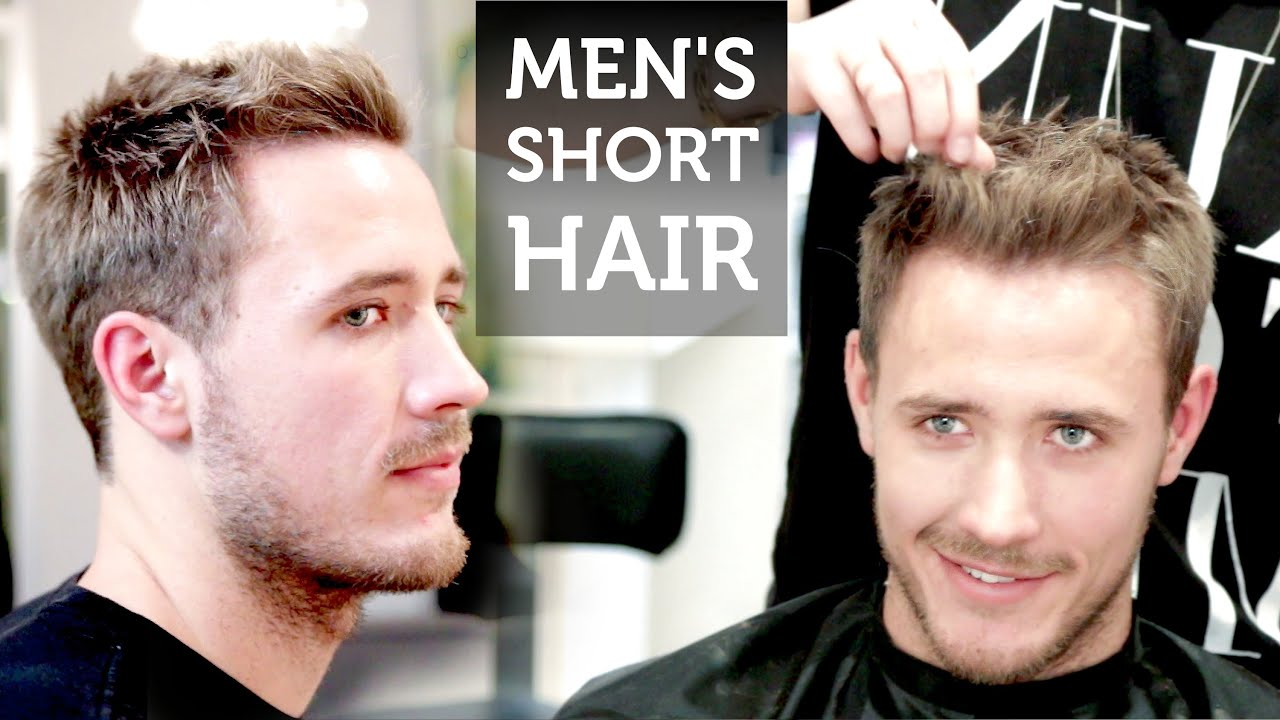 Men S Short Hair Josh Duhamel Inspired Hairstyle How To Style Short Hair Youtube