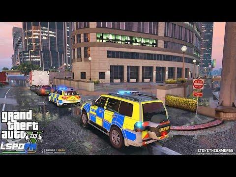 GTA 5 LSPDFR 0.3.1 - EPiSODE 235 - LET'S BE COPS - BRITISH PATROL (GTA 5 PC POLICE MODS)