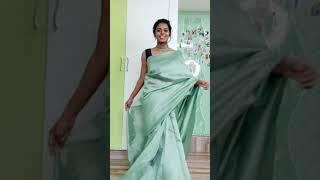 Saree haul❤️ Full video link on description