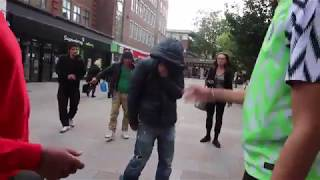 BETA SQUAD members get into a FIGHT WITH A ROADMEN.