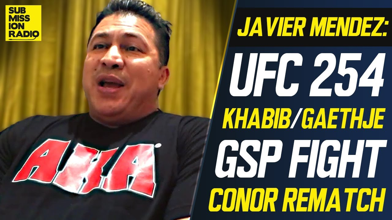 "UFC 254: Khabib's Coach on Justin Gaethje, GSP, Conor McGregor Rematch, ""Father's Plan"""