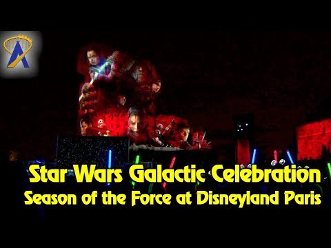 Star Wars: A Galactic Celebration featuring The Last Jedi - Season of the Force at Disneyland Paris