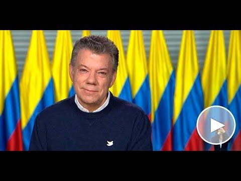 Alocución del señor Presidente de la República Juan Manuel Santos
