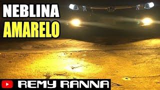FAROL DE NEBLINA (MILHA) AMARELO OURO XENON 3000 CIVIC G9