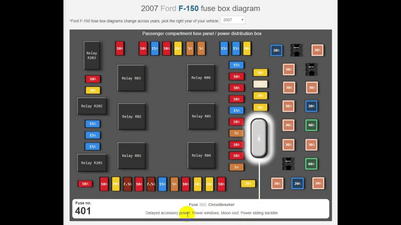 2007 ford f150 trailer plug wiring diagram 2010 dodge journey radio fuse box youtube