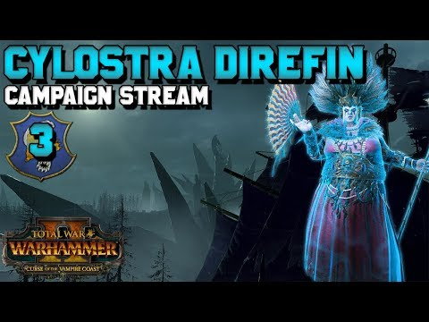 Cylostra Direfin + V-Coast Give Away! Early Access Campaign! #3 | Curse of the Vampire Coast
