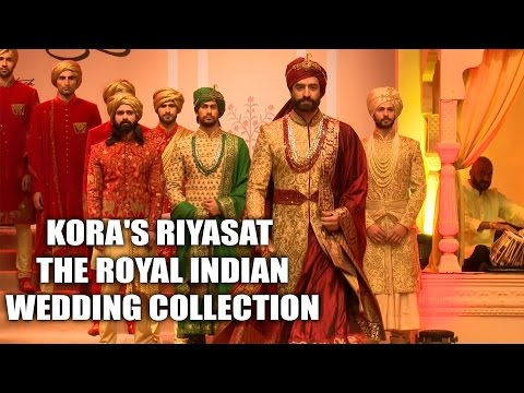 Kora's Riyasat - The Royal Indian wedding collection is Vogue, extravagant yet eternal and royal!