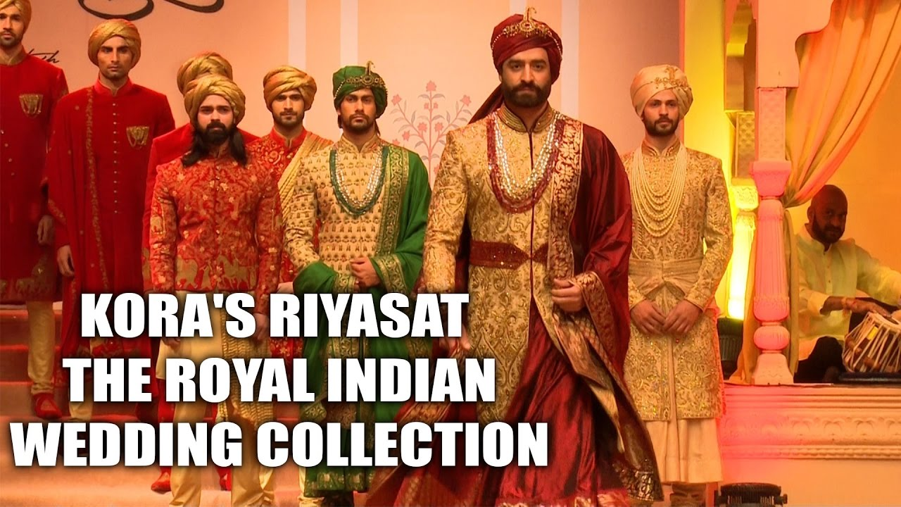 Kora's Riyasat - The Royal Indian wedding collection is Vogue, extravagant yet eternal and roya