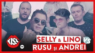 SELLY &amp LINO GOLDEN vs. ANDREI CIOBANU &amp IONUT RUSU - RAP BATTLE (Official Video)