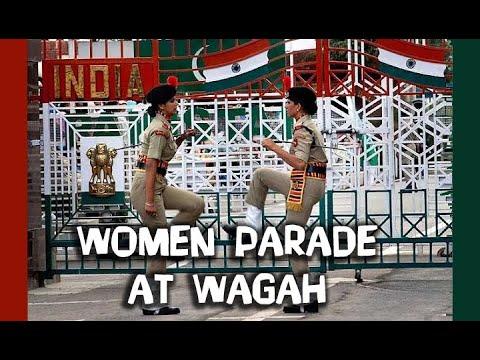 womens prade at wagah