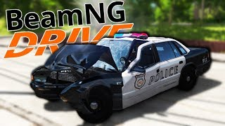 I'm The World's Worst Police Officer In BEAMNG.DRIVE