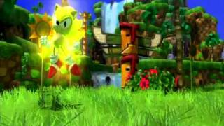 Sonic Generations (PS3/360): Classic and Modern Super Sonic Gameplay
