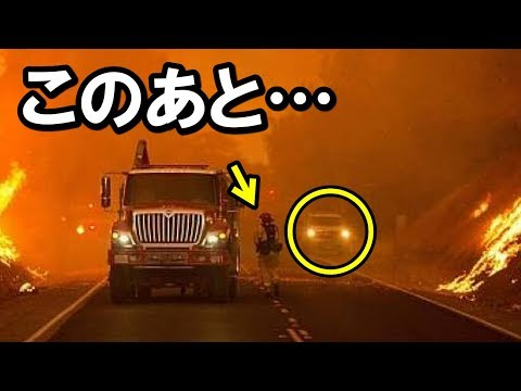 衝撃!米カリフォルニアの山火事で日本車に乗った米国人が現れた瞬間!またも世界が驚いた日本の秘めたる能力【海外の反応】
