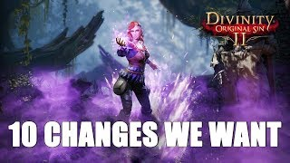 Divinity Original Sin 2 – 10 Changes We Want