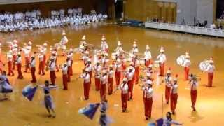 Nishihara High School Marching Band @ IOGKF Budosai 2012 - Part 2