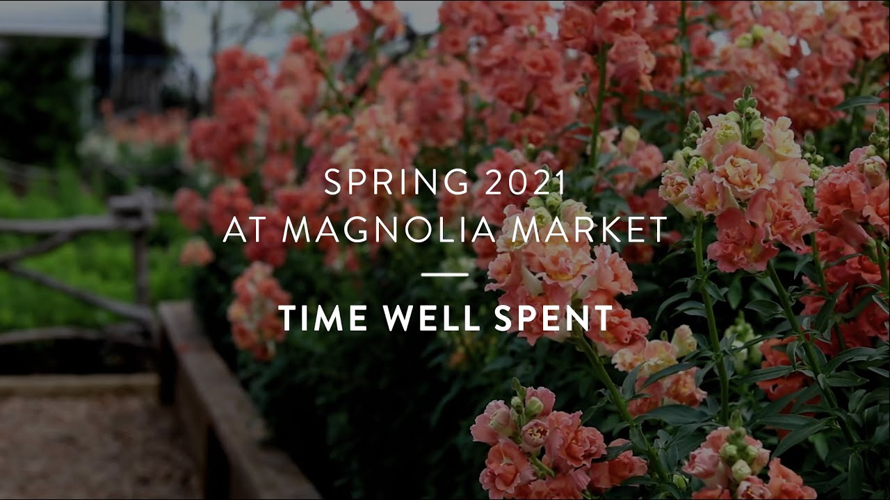Spring 2021 at Magnolia - Time Well Spent