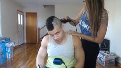 HAIR CUT ON STREAM
