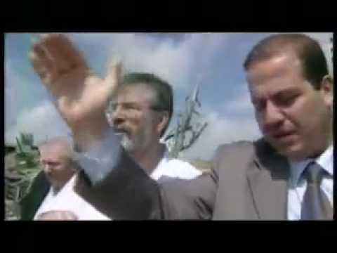 Irish Sinn Féin Gerry Adams visits Palestine
