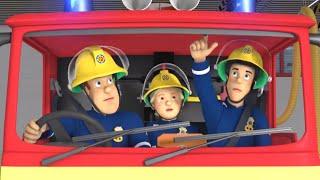 Sam le Pompier en français Les pompiers au travail!  Clip | Dessin animé