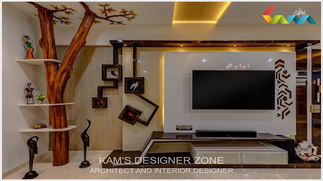 Premium 4 Bhk Flat Interior Designing In Pune Kams Designer Zone Youtube