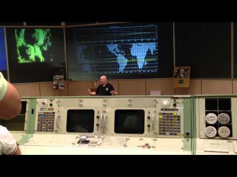 Gene Kranz  Mission Control Center NASA