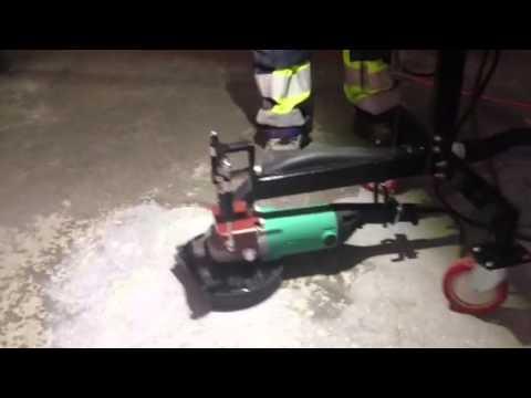Omtyckta Betong slipning - YouTube RH-01