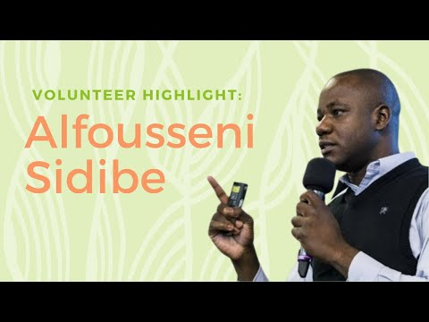 60 seconds with Common Pastures volunteer Alfousseni Sidibe