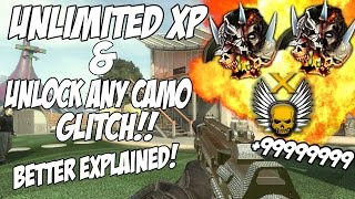 Black ops 2 UNLIMITED XP & UNLOCK ANY CAMO EASILY GLITCH! LEVEL UP INSANELY FAST!!(PS3/Xbox One/360)