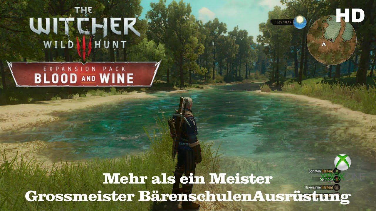The Witcher 3 Großmeister