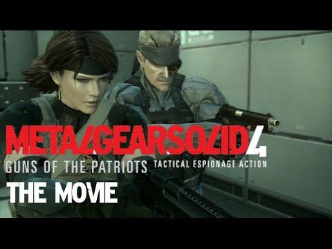 Metal Gear Solid 4 - The Movie [HD] Полный фильм