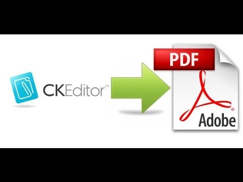 CKEditor Export To Pdf In PHP (using MPDF)