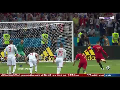 spain-vs-portugal-first-half-all-goals-and-highlights-|-world-cup-2018