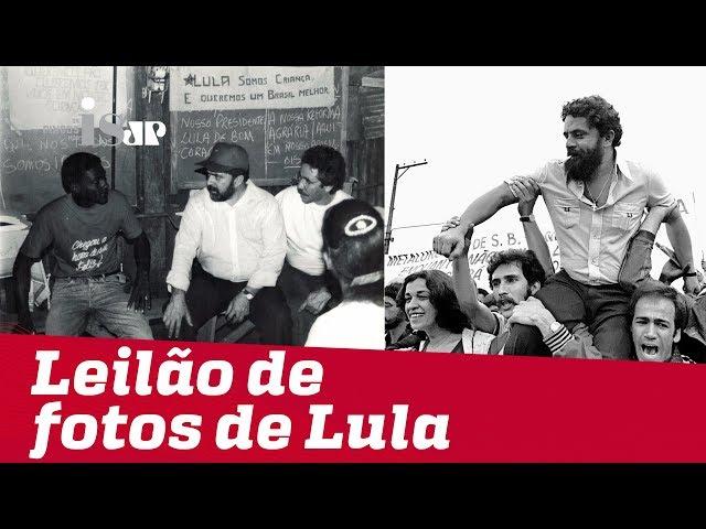 O leilão das fotos autografadas por Lula