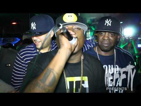 French Montana Brings Out Jadakiss At Club 11 with DJ Kay Slay & Uncle Murda
