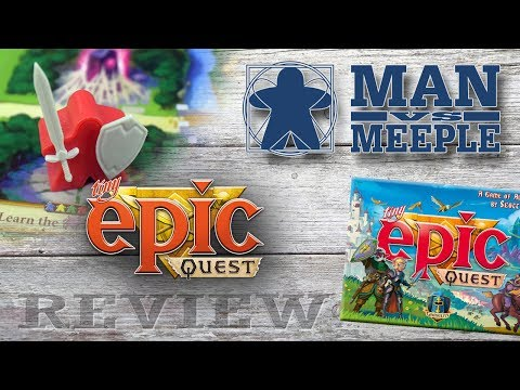 Tiny Epic Quest (Gamelyn Games) Review by Man Vs Meeple