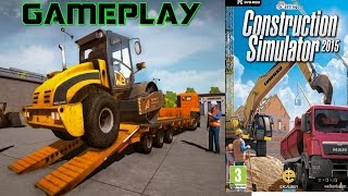 Construction Simulator 2015 Gameplay PC HD