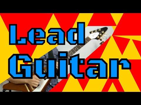 Huge Sounding Lead Guitar - Electric Lead Riffs Lesson - 동영상