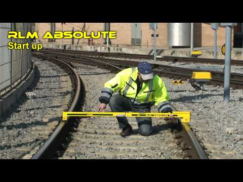 CARTTOP RLM ABSOLUTE : absolute railway track positioningcompletely integrated with Leica's robotic