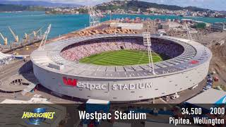 Super Rugby Stadiums 2019