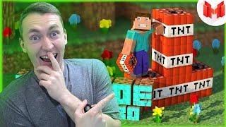 "СМОТРИМ #2 Minecraft ""Баги, Приколы, Фейлы"" | РЕАКЦИЯ НА МАРМОКА"