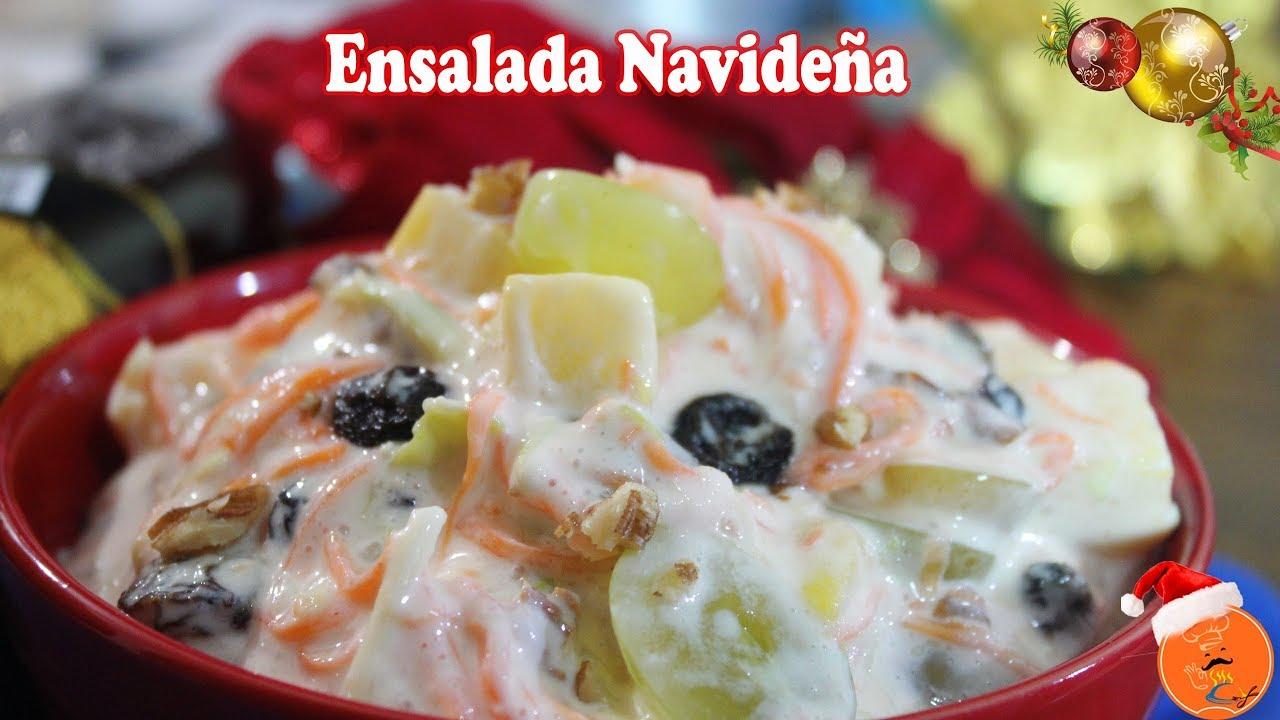 Ensalada Navideña - Acomerpe.com