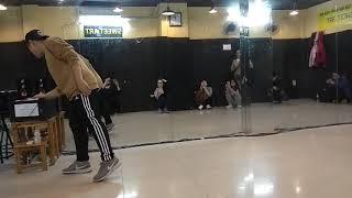 Trung shuffle dance lesson no2 Dec 2017