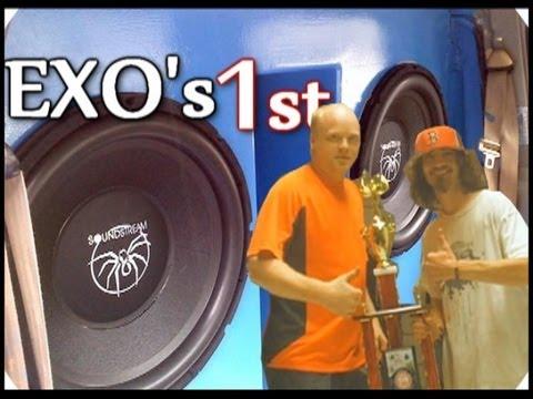 EXOcontralto 1st Place BASS Brawling 300 - Walled Off Soundstream XXX 18 Subs - TNESPL World Finals - 동영상