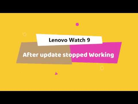 Lenovo Watch 9, blinks 4 times