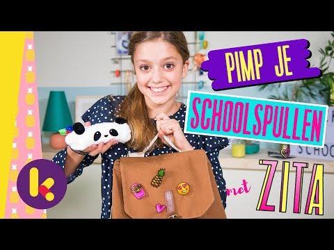 Pimp je schoolspullen met Zita