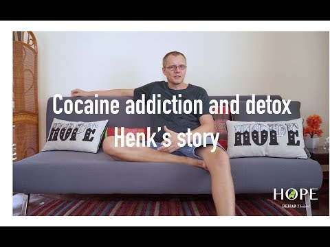Cocaine addiction and detox - Henk's Story