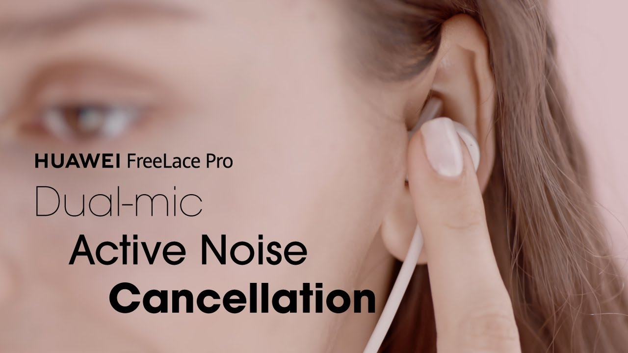 HUAWEI FreeLace Pro l Dual-mic Active Noise Cancellation